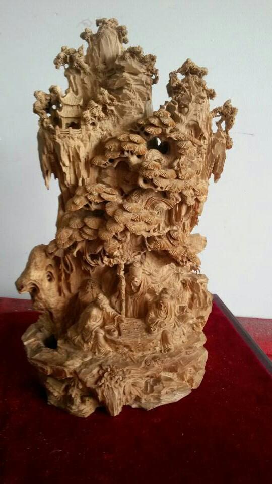 年创办江苏如皋维奇红木雕刻工艺品厂任厂长